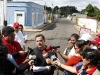 Gobernador Tarek entregó asfaltado de calles en el sector Santa Ana II de El Tigrito
