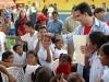 Tarek supervisa construcción de Escuela Cecilio Acosta en Barbacoas