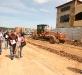 Inspección construcción del pte Río Neverí