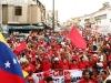 PSUV realizó marchas en rechazo a bases militares de EEUU en Colombia