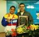 Gobernador Tarek otorgó beca vitalicia a  Mayerlyn Barreto medallista de oro