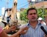 Tarek supervisa trabajos que realiza Covinea en Nueva Barcelona
