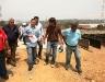 Tarek inspeccionó construcción del Distribuidor Los Montones