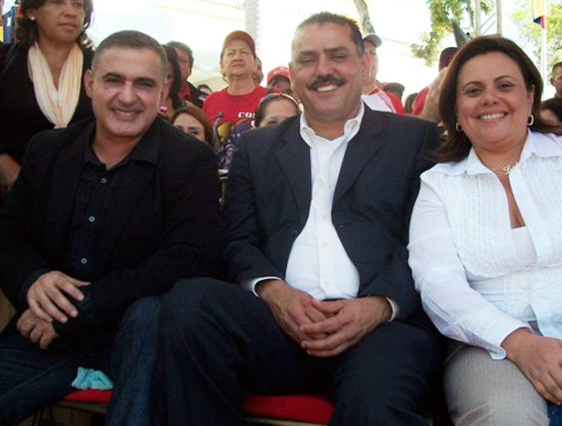 Presidente Chávez y Tarek asistieron al 193 aniversario del Congreso de Angostura
