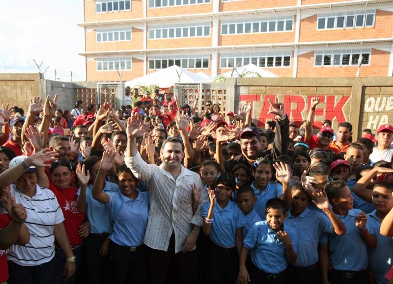 Gobernación realiza trabajos de ampliación y mejoras en Liceo Briceño Méndez de El Tigre