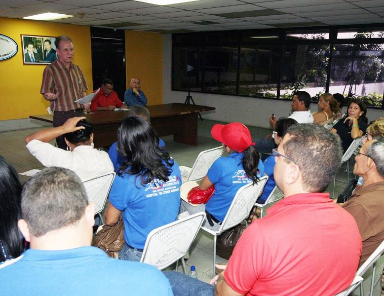 Juramentado Frente de Trabajadores Socialistas del Sector Salud en Anzoátegui