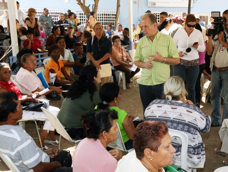 Gobernación respalda impulso de Misión en Amor Mayor en Anzoátegui