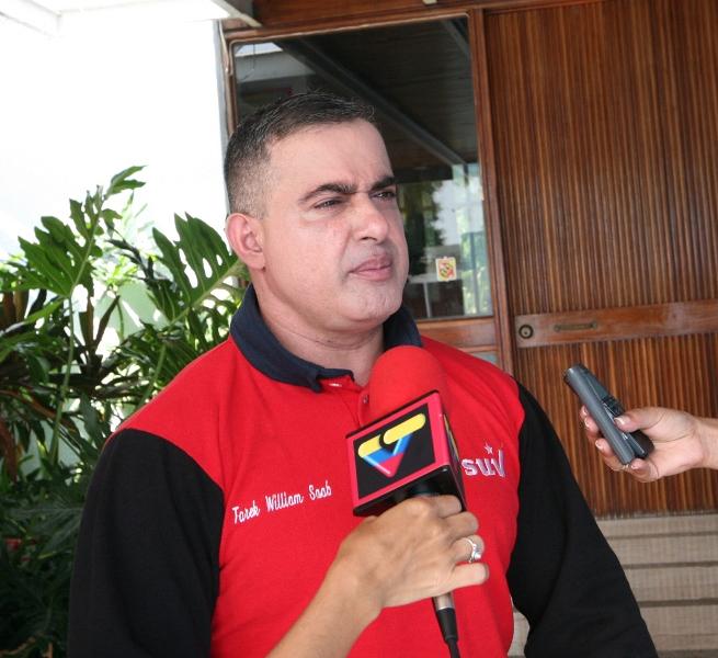 """Tarek:""""El Comandante Chávez ya se inscribió como el candidato de la patria y de la vida"""""""