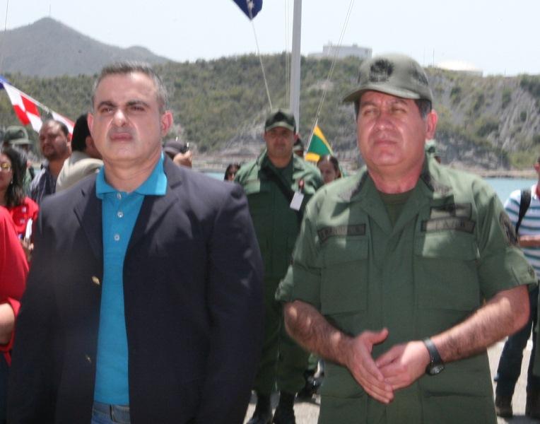 Tarek acompañó a Ministro Rangel en transmisión de mando de la Región Estratégica Oriental
