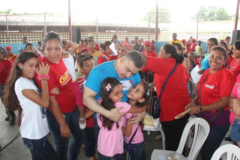 Chavismo chequeó 1X10 en zona rural de Sotillo