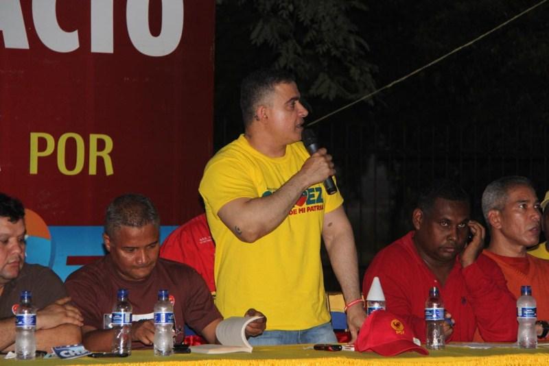 Comando Carabobo reunió maquinaria en Sotillo
