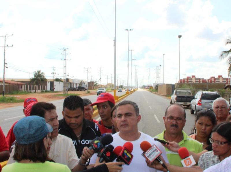 Tarek inauguró Av. Jesús Subero en El Tigre