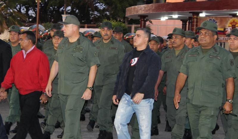 Gobernador Tarek felicitó a nuevo jefe del CORE 7