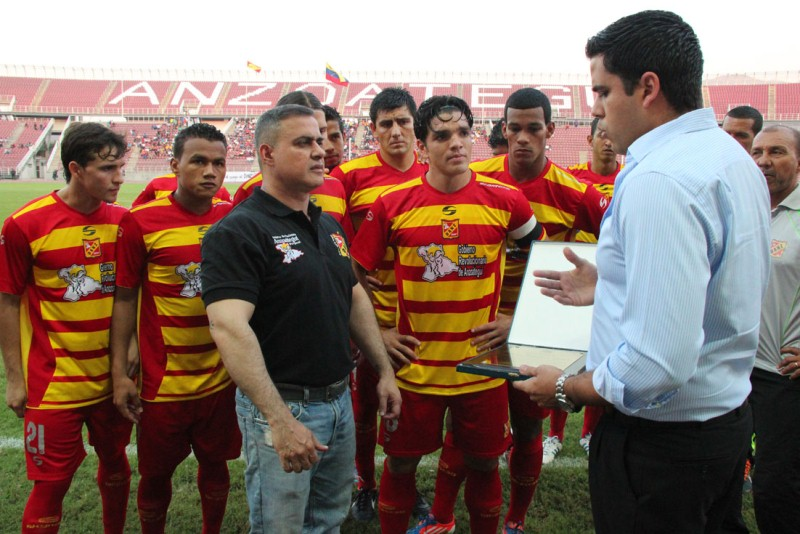 Tarek felicita al DANZ por Copa Venezuela