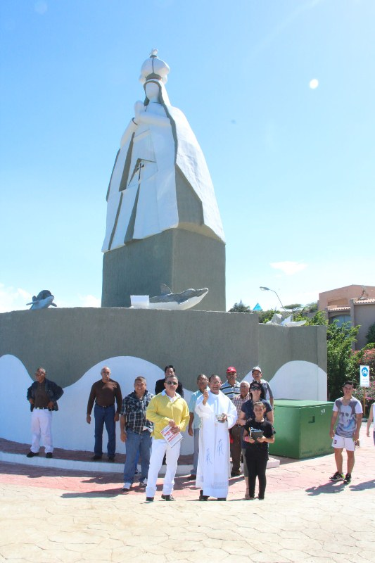 Gobernador Tarek inaugur monumento a la Virgen del Valle