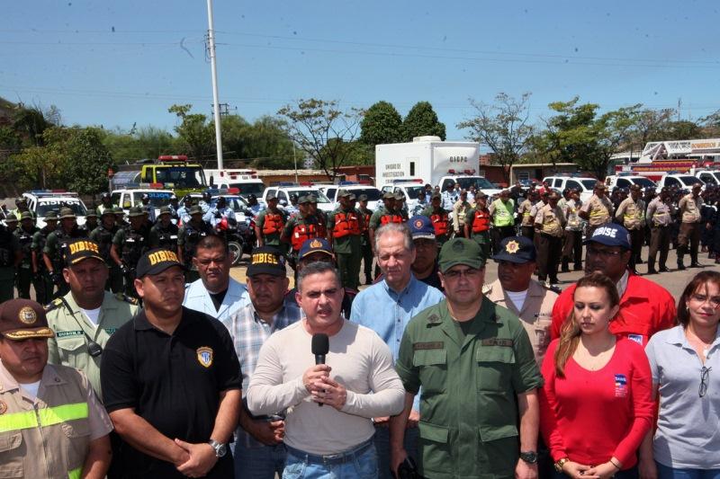 Tarek dio inicio a Operativo Carnaval Seguro 2012 con el despliegue de 6.400 funcionarios