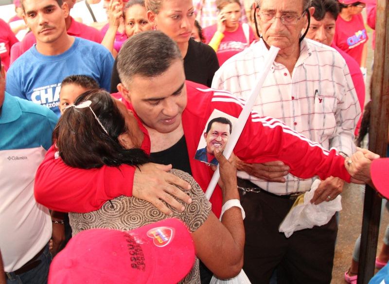 Chavistas se desplegaron en Las Casitas