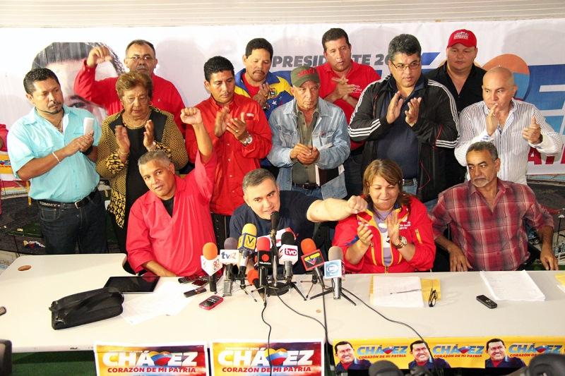 Chavismo reunió a su estructura estadal