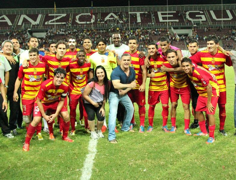 Tarek da apoyo incondicional al Deportivo Anzoátegui