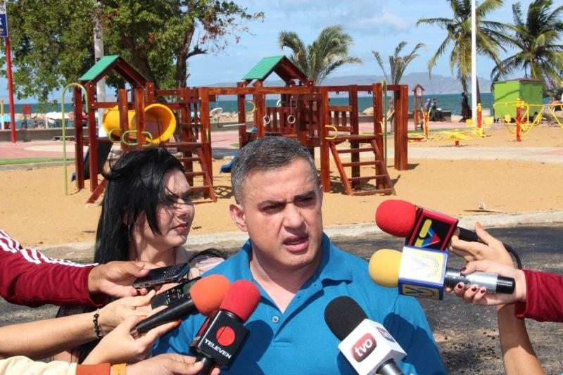 Gobernador Tarek inauguró Parque Ramón Palomares