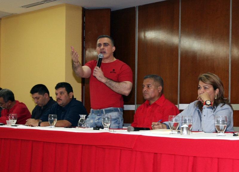 Yelitza Santaella y Tarek presidieron reunión interinstitucional del PSUV con autoridades públicas