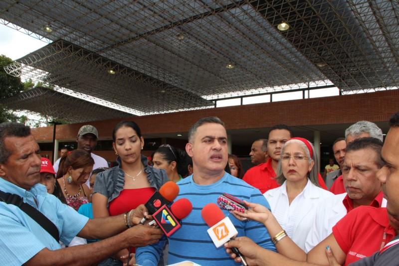 Tarek inauguró múltiples áreas en el Hospital de El Tigre