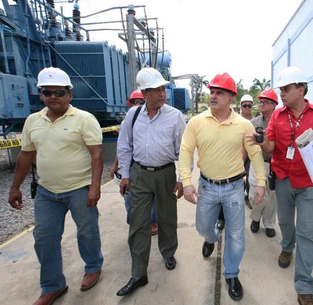 Ejecutivo regional construye Sub-estación eléctrica Aragua II en el municipio Santa Ana