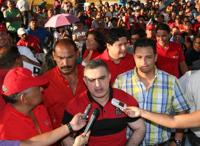 Tarek efectuó reunión con dirección municipal y juntas parroquiales del Psuv