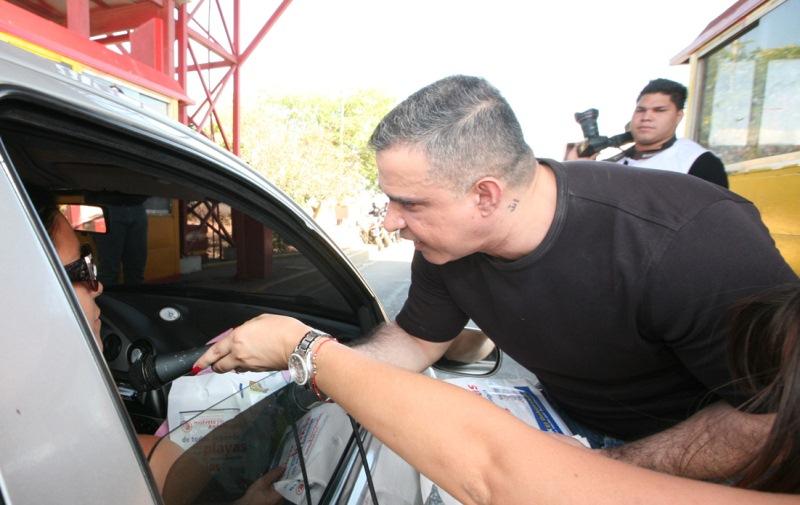 Tarek recibió a temporadistas de toda Venezuela que eligieron Anzoátegui para estos carnavales