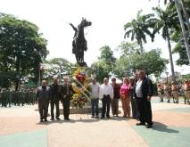 Poder Popular y Autoridades conmemoraron 201 años de la Declaración de Independencia