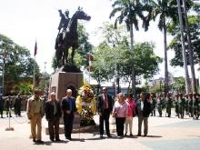 Poder Público y Militar de Anzoátegui conmemoró 191 aniversario de la Batalla de Carabobo