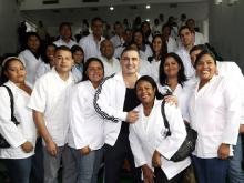 Tarek presidió acto de incorporación de médicos  comunitarios en  Anzoátegui