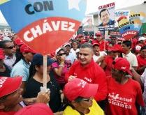 """Chavistas desplegaron contundente """"huracán revolucionario"""" en Puerto La Cruz"""