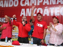 Chavismo comienza proceso de agitación y movilización de precampaña en Anzoátegui