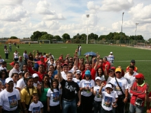 Gobernación avanza en construcción del estadio de futbol con grama artificial de El Tigre