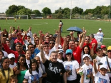 "Gobernador Tarek inauguró Estadio de Futbol ""Eduardo Jesús Bellorin"" en Guanipa"