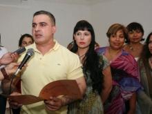 """Gobernador Tarek inauguró exposición """"Lo Esencial"""" en la Galería Pedro Báez"""