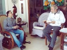 Tarek William Saab rinde homenaje a Fidel en sus 86 años