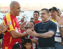 """Gobernador Tarek entregó reconocimiento a """"Patón"""" González"""