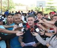 Gobernador Tarek y Viceministro Quiñones iniciaron Clínica de Baloncesto en Boyacá I