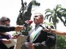 Pueblo y Autoridades conmemoraron 229 Natalicio del Libertador y Día de la Armada