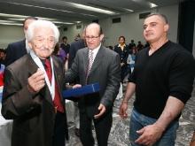 Gobernador Tarek entregó Orden José Antonio Anzoátegui al Maestro Inocente Carreño