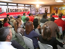 Frente de Abogados Bolivarianos definen estrategias para reelección del Presidente Chávez
