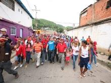 Chavistas movilizados en Colinas de Valle Verde de Puerto la Cruz