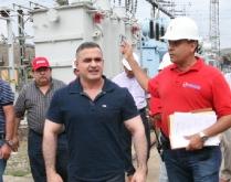 Gobernador y Corpoelec reciben transformación de 36 Mva para subestación Barbacoa I