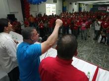 """Presidente de Corpoelec y Tarek juramentaron Frente Socialista de Trabajadores Eléctricos """"Misión 7 de Octubre"""""""