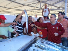 Tarek inauguró Mercado Pesquero Aldea de Pescadores