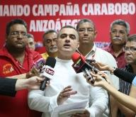 Durante la reunión del Comando de Campaña Carabobo el jefe regional Tarek William Saab, informó que será arreciada la jornada de conformación del 1x10 en los 21 municipios de la entidad, ante la gran  importancia de captar los votos duros del chavismo en el estado, fundamentales para la gran victoria del candidato de la Patria Hugo Chávez el próximo 7 de Octubre.