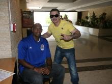 Tarek reitera su apoyo al campeón Marinos de Anzoátegui  en la conquista de su noveno título