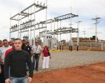 """Tarek inauguró subestación eléctrica """"Jesús Subero"""" en El Tigre"""